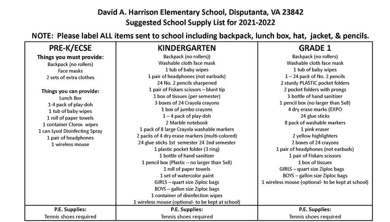 PK-1st Grade Supply Lists and Orientation Featured Photo