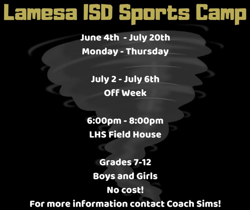 Lamesa ISD Sports Camp Thumbnail Image
