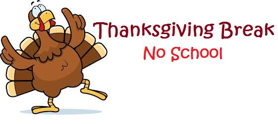 Thanksgiving Break - November 24, 25, 26 Featured Photo