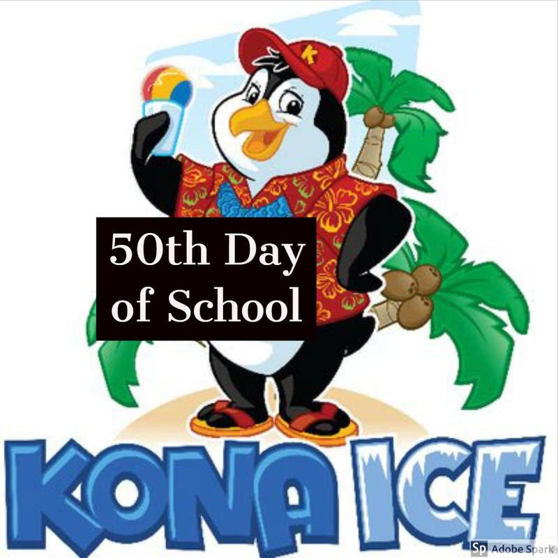 50th Day of School & Kona Ice Thumbnail Image