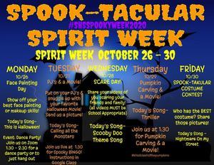 Spook-Tacular Week 2020