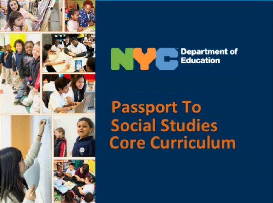Passport to Social studies Logo