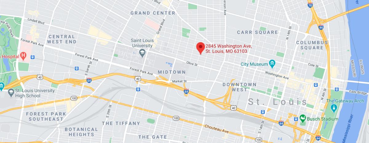 Map of Midtown STL