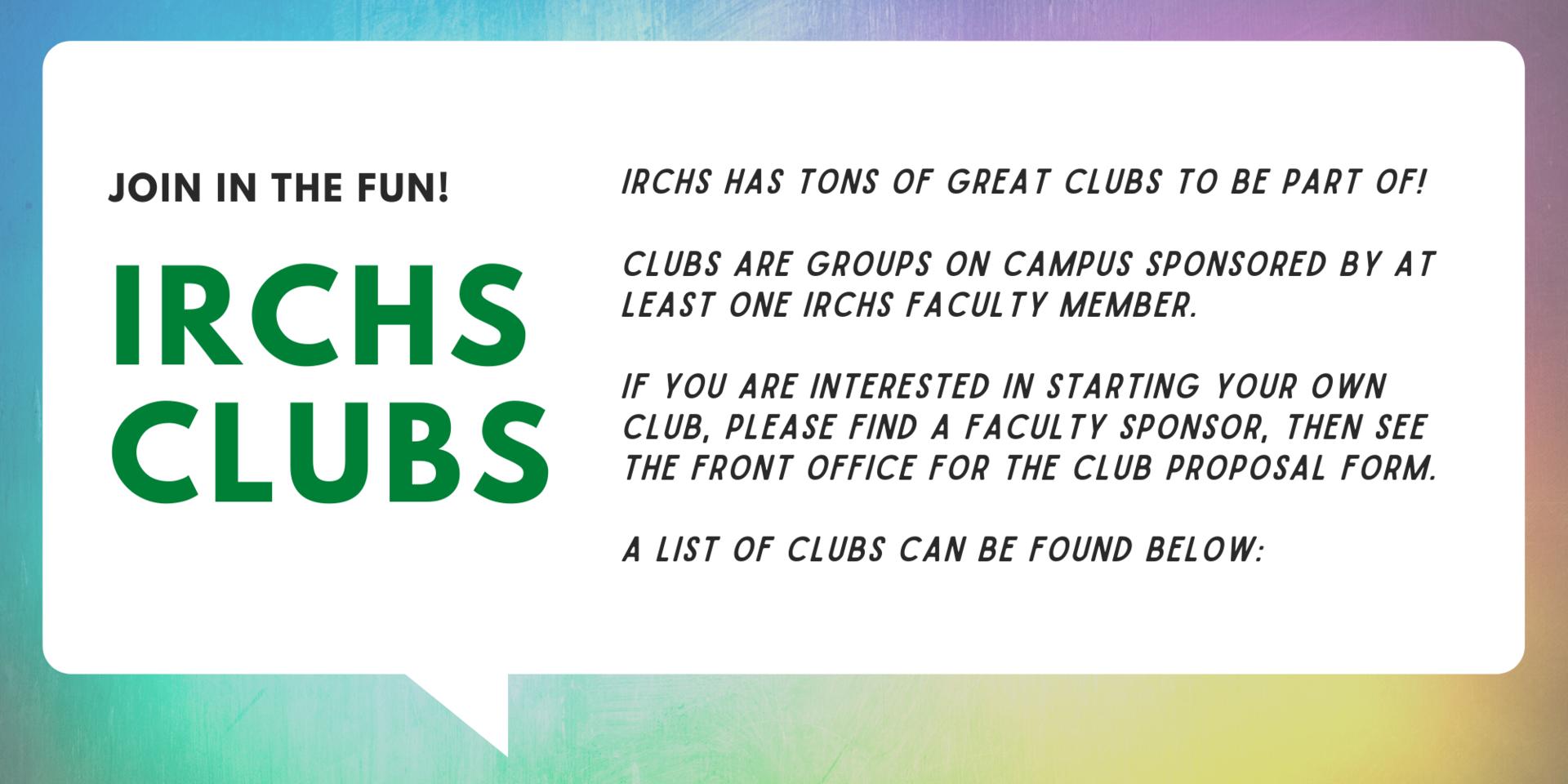 irchs club graphic