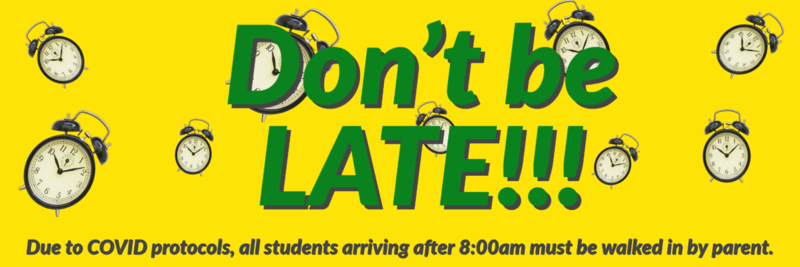 Don't be Late