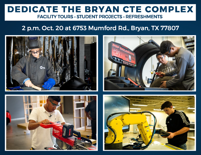 Bryan Career And Technical Education Dedication and Open House
