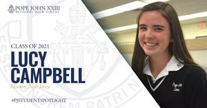 Lucy Campbell PJ Student Spotlight