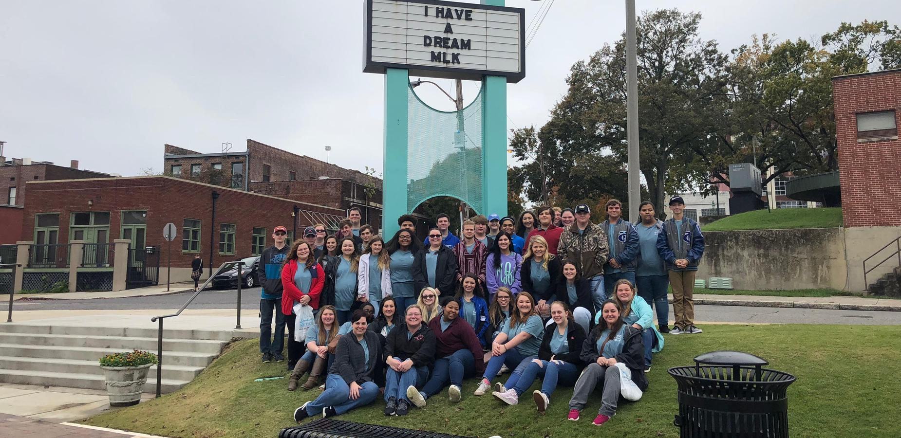 History Club Visits Civil Rights Museum in Memphis, TN