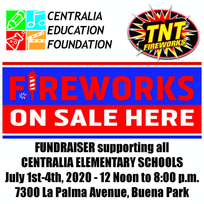 Fireworks on sale July 1-4 2020 at Walter Knott from Noon to 8