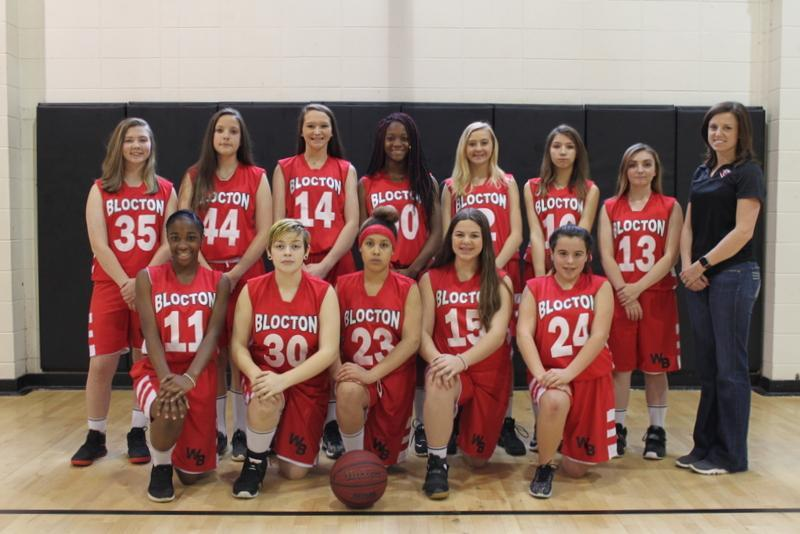 WBMS Girls Basketball Team 2018-2019