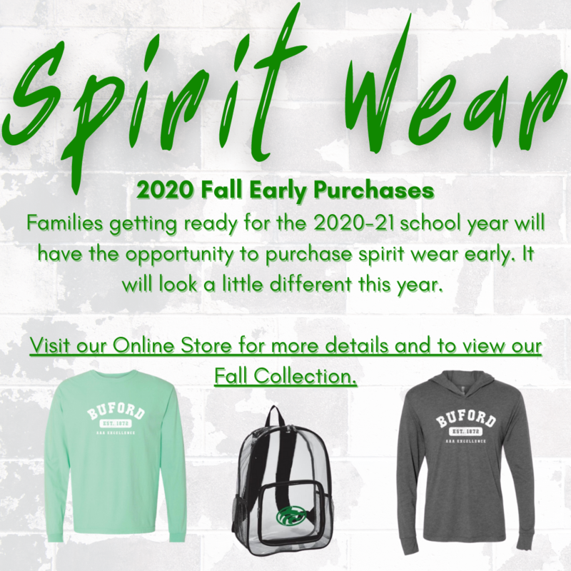 Spirit Wear Early Purchases Featured Photo