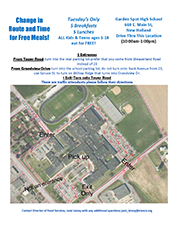 Food Services Meal Distribution Changes Flyer 4.16.2020