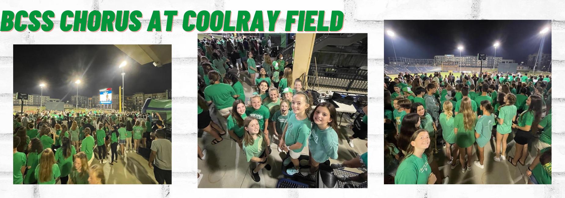 BCSS Chorus at CoolRay