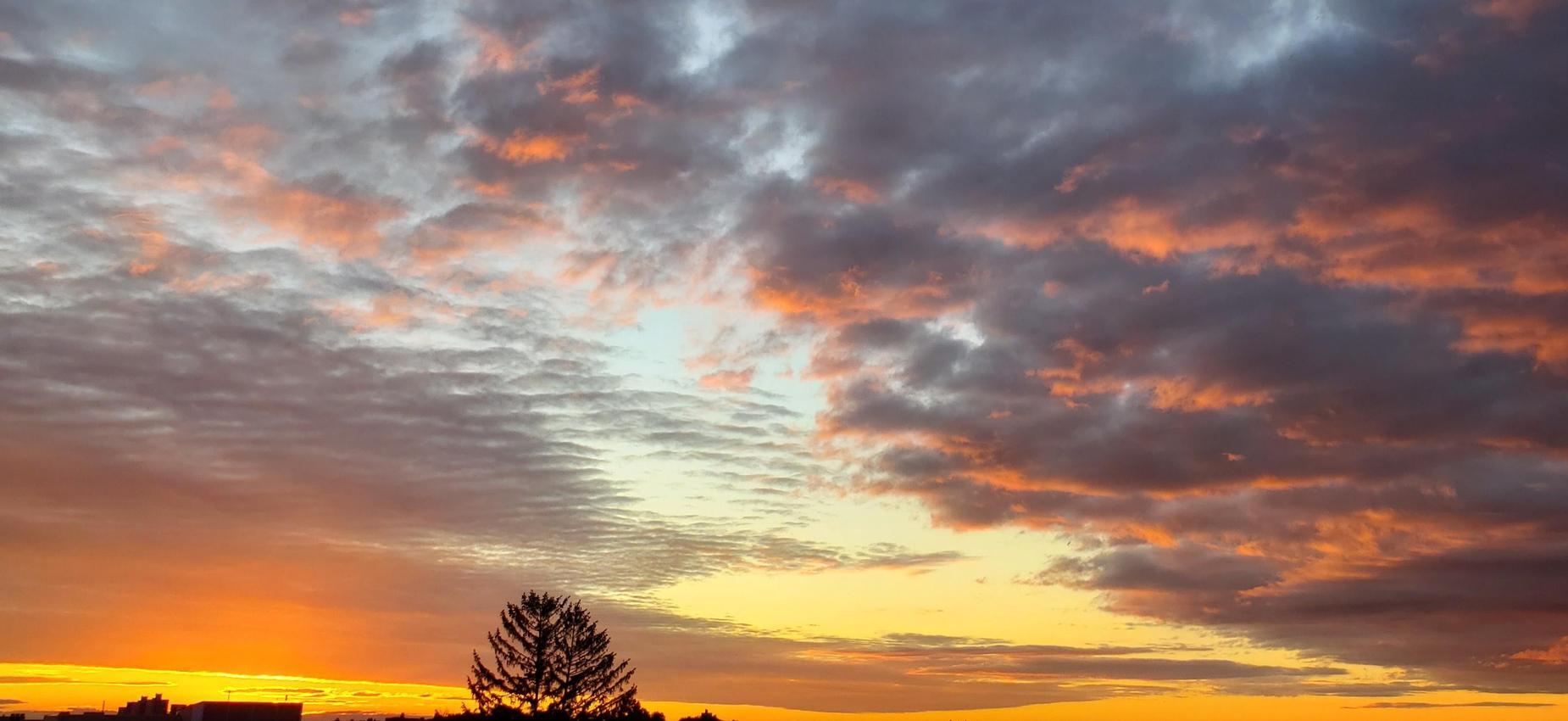 Sunrise on 73