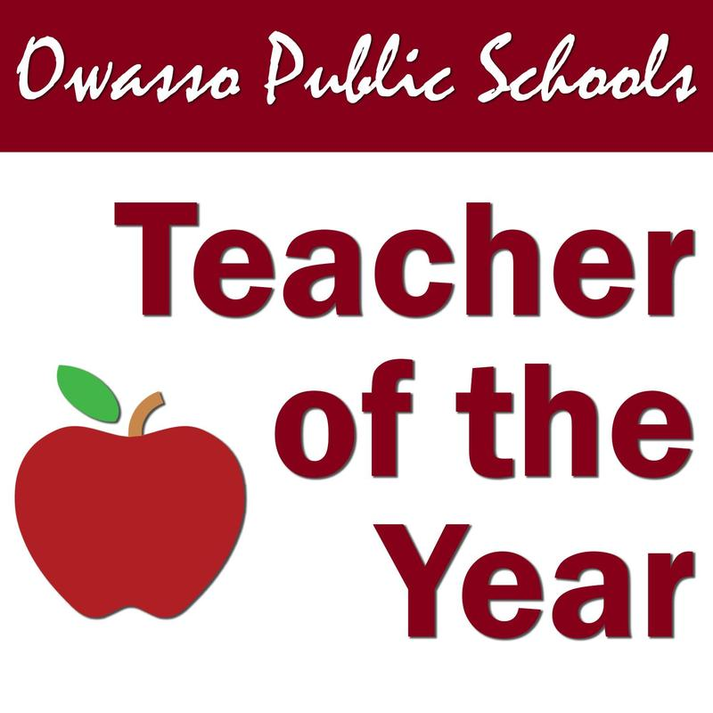 Owasso Public Schools Teacher of the Year
