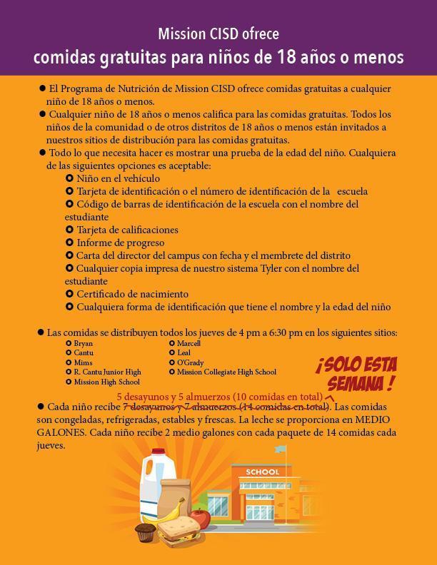 spanish version of the program flyer graphic