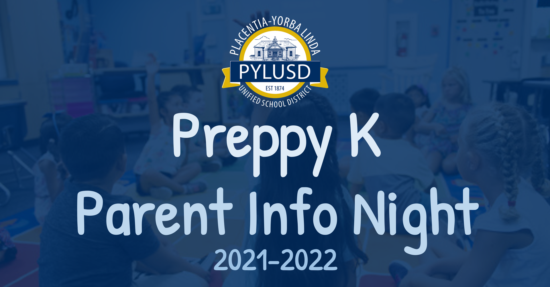 Preppy K Parent Information Night.