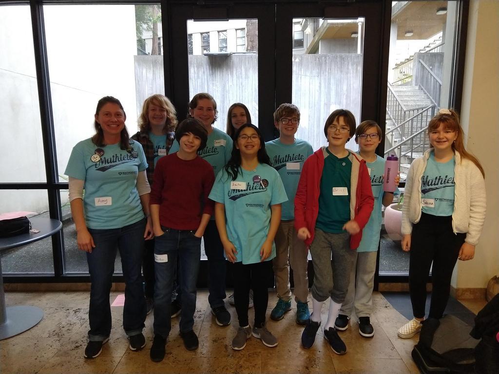 SBMS math Counts students!