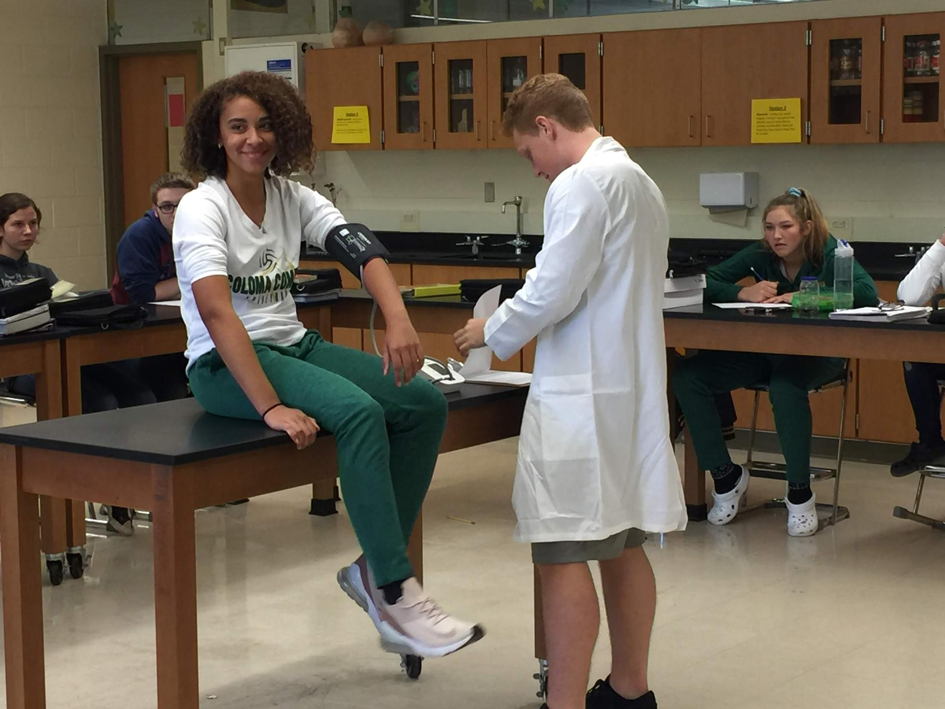 Role playing in Advanced Biology