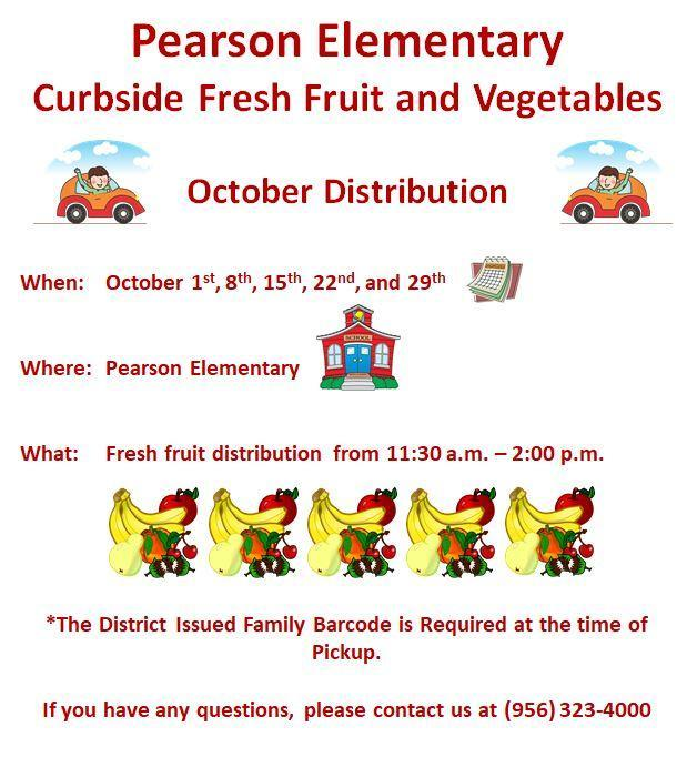 Fresh Fruits at Pearson Elementary - October Edition Featured Photo