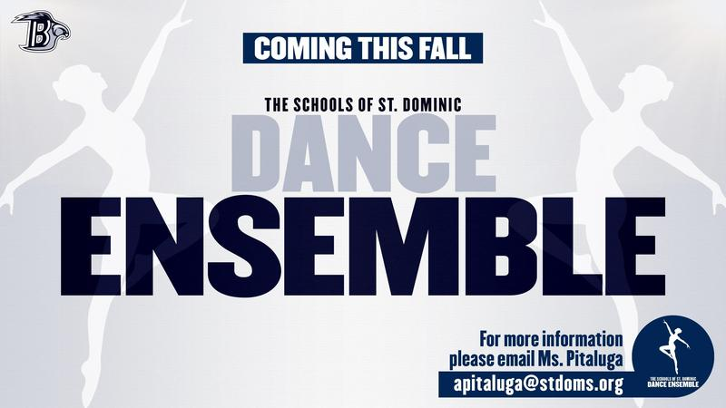 The Schools of St. Dominic Dance Ensemble - Coming This Fall Featured Photo