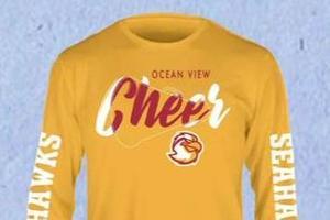 OV Cheer long sleeve T shirt