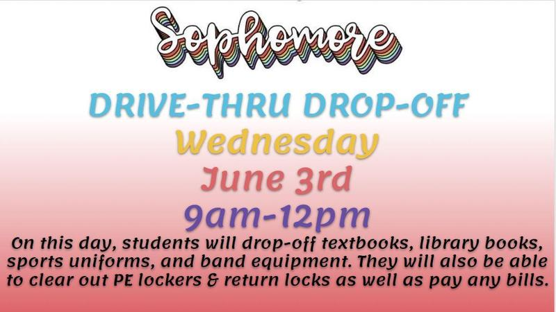 Sophomore Drop Off Day