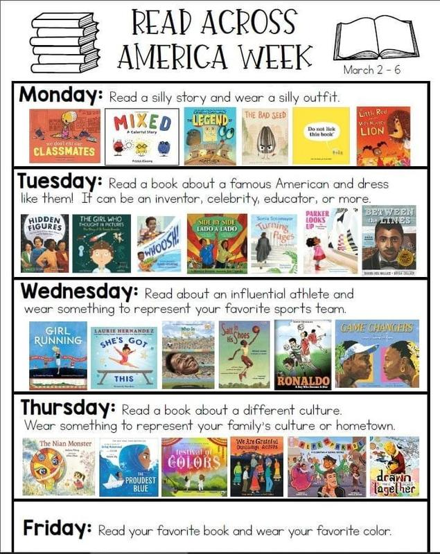 Read Across America Week March 1-5 Featured Photo