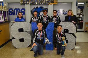 SMS Robotics Team wins 1st