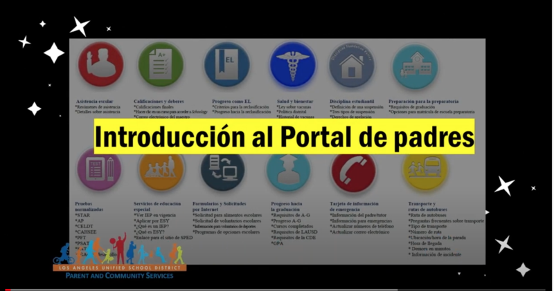 LAUSD Portal de padres - introducción para iniciar una sesión y ver calificaciones (Video) Featured Photo