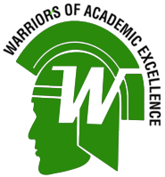 Wolfe Warriors of academic excellence logo