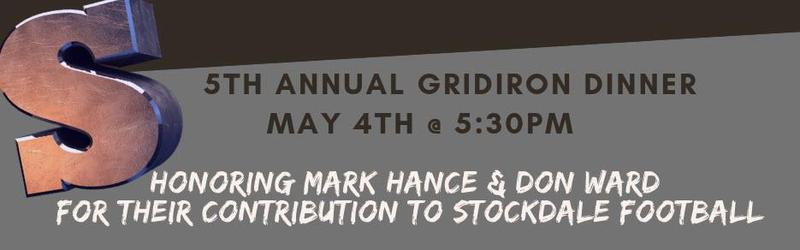 5th Annual Gridiron Dinner - May 4, 5:30pm @ Lengthwise District Blvd Thumbnail Image