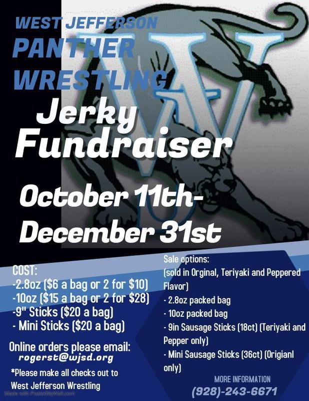 Jerky Fundraiser