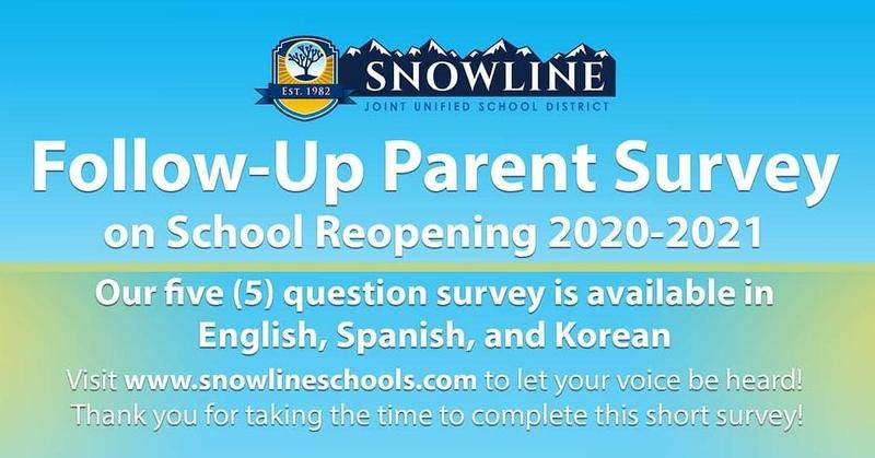 Follow-Up Parent Survey: School Reopening 2020-21 Featured Photo