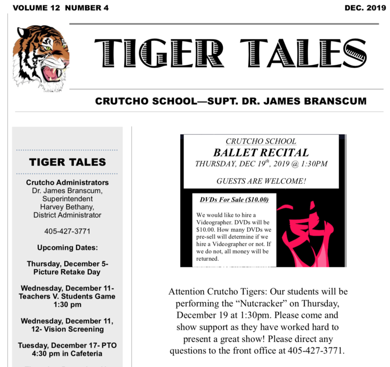 December Tigers Tales 2019!! Featured Photo