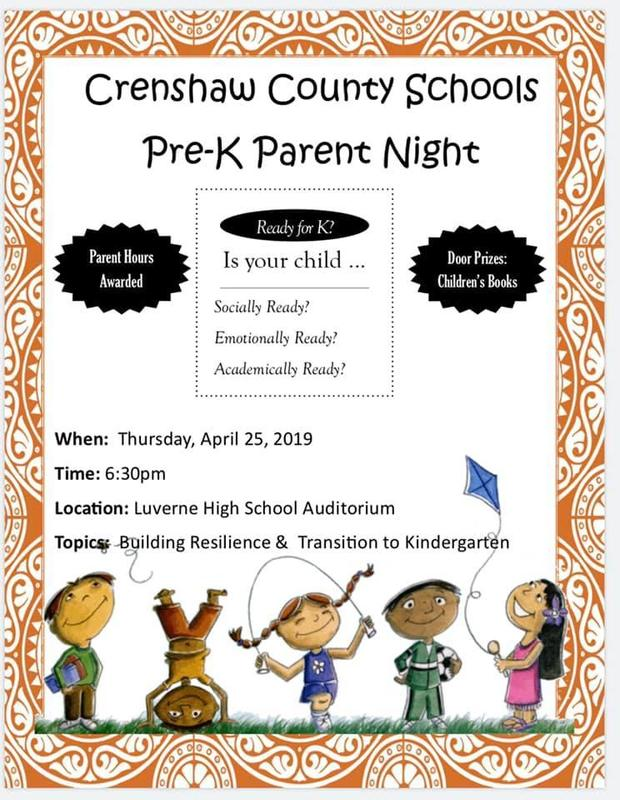 Prek parent night