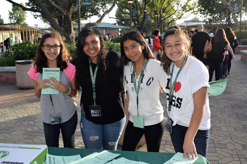 Students Explore College at District Fair Featured Photo