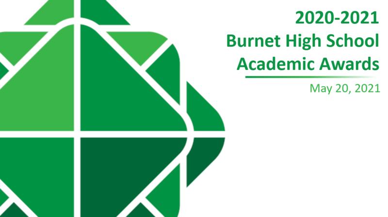 BHS Academic Awards - Grades 9-11 Thumbnail Image