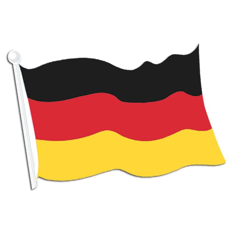 clip art of German flag