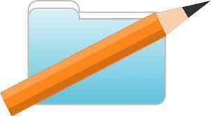 Pencil & Folder