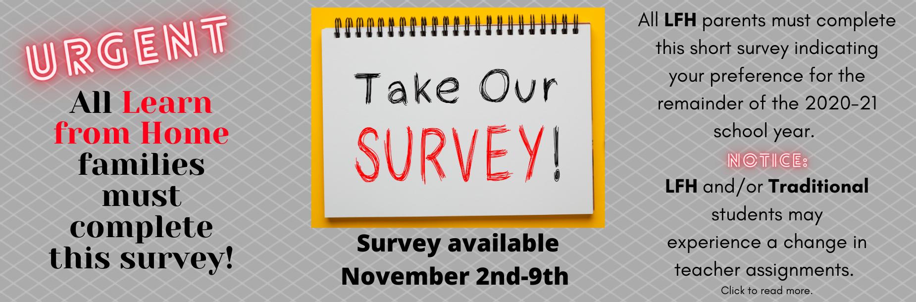 LFH parent survey