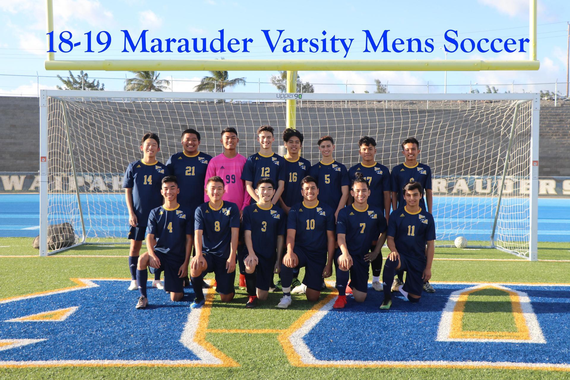 Soccer Boys Varsity