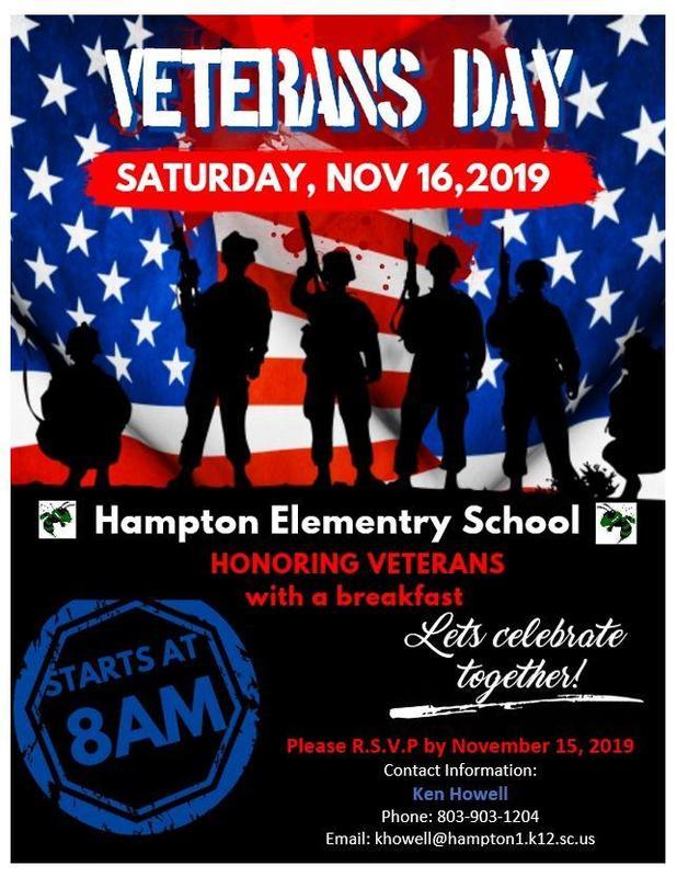 Veterans' Breakfast - November 16, 2019