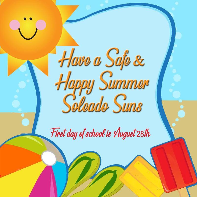 🏖️ Happy Summer Soleado Suns! ⛱️ Thumbnail Image