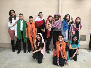 Fifth Grade Bollywood Performers