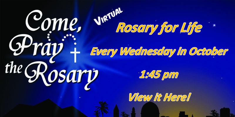 Virtual Rosary for Life Featured Photo