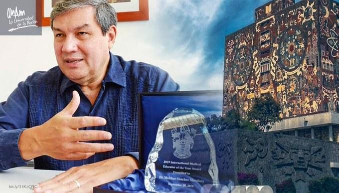 Premian a académico de la UNAM por compromiso con educación médica Featured Photo