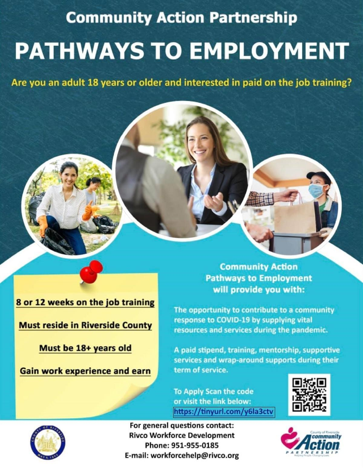 Pathways to Employment-Riverside County Employment Assistance
