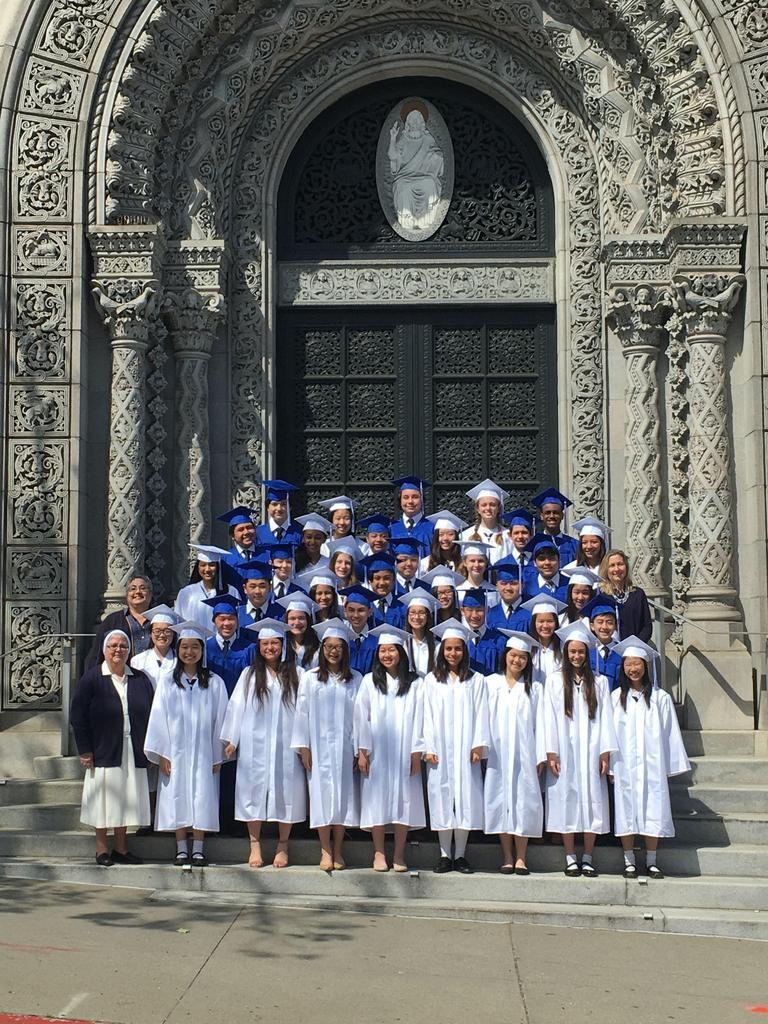 Saint Brigid Graduation Ceremony
