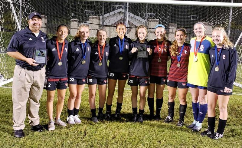 Girls Soccer Finishes Season as District Runner-Up! Thumbnail Image